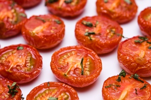Oven-Roasted Plum Tomatoes