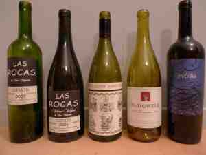 2009 sept wine bottles - low